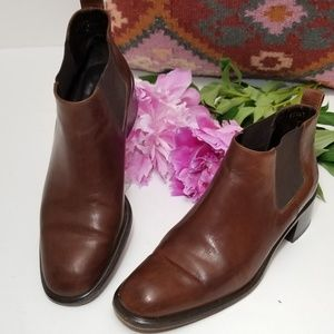 Cole Haan Leather Landsman Booties